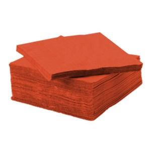 Serviette ouate de cellulose terracotta