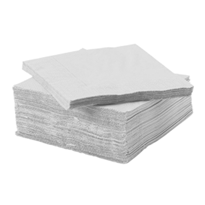 Serviette Voie sèche blanc