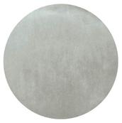 Set table rond intissé gris