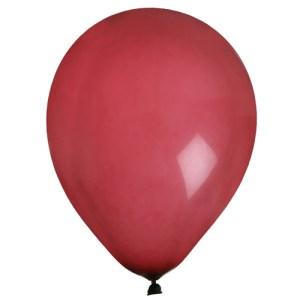 Ballon uni bordeaux