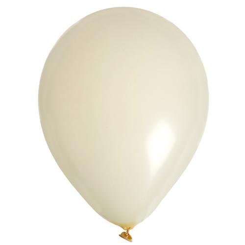 Ballon uni ivoire