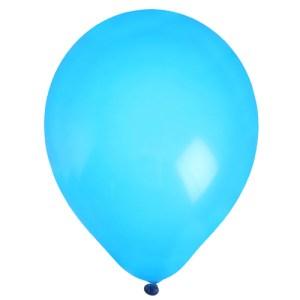 Ballon uni turquoise