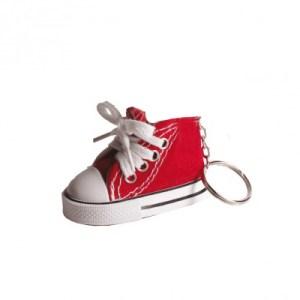 Basket porte-clefs rouge
