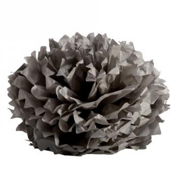 Boule crépon grise