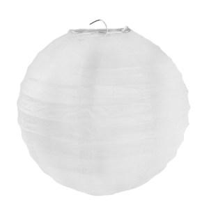 Lanterne uni blanc