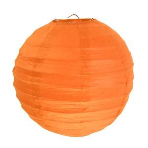 Lanterne uni orange