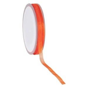 Ruban 7 mm organdi orange