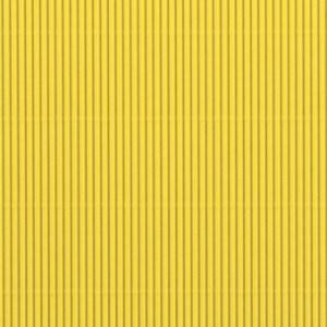 Carton ondulé - jaune soleil