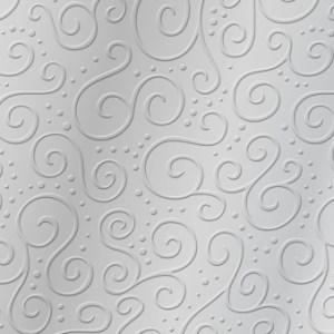 Carton gaufré Milano - argent