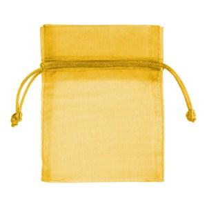 Sachet organdi jaune