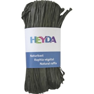 Raphia végétal - noir