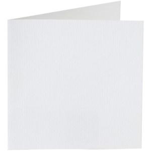 Papicolor carte double 140 x 140 - blanc