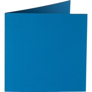 Papicolor carte double 140 x 140 - bleu
