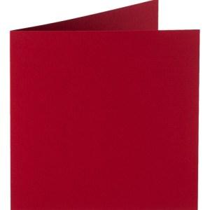 Papicolor carte double 140 x 140 - bordeaux