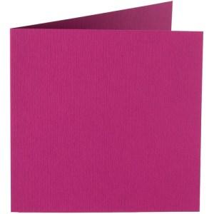 Papicolor carte double 140 x 140 - framboise