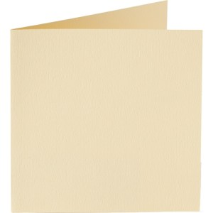 Papicolor carte double 140 x 140 - ivoire