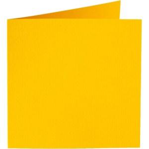 Papicolor carte double 140 x 140 - jaune