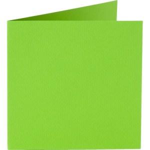 Papicolor carte double 140 x 140 - vert pomme