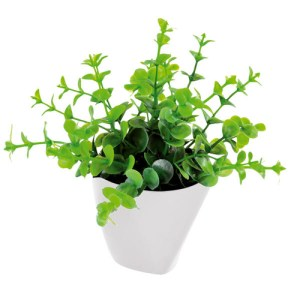 Mini plante synthétique eucalyptus