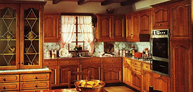 meuble cuisine noir laqué