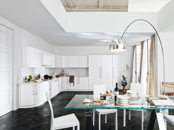 La cuisine blanche  llgante clart  Inspiration cuisine  Le magazine de la cuisine quipe