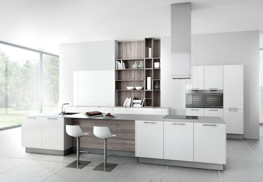 Cuisine Ikea Blanc Brillant