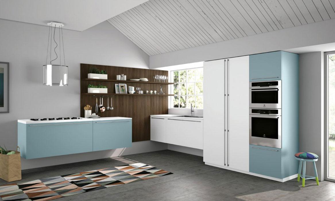 Dix cuisines bleues  lesprit grand large  Inspiration