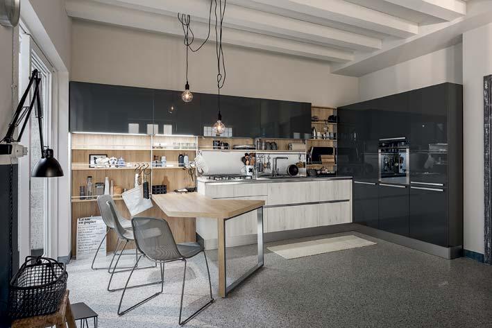 Cuisine noire ou cuisine blanche  Osez le contraste  Inspiration cuisine