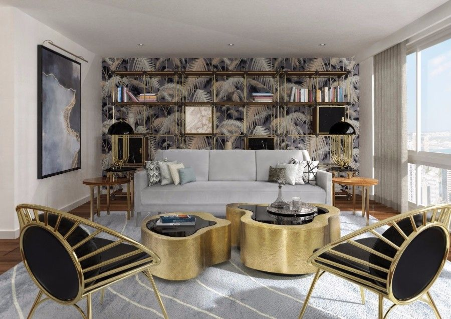 modern look living room orange and gray a guide to how get mid century truly inspiring needs touches of polished brass mixing the past with present isn t always easy but right