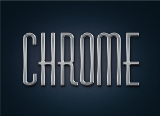 free-metal-chrome-layer-style