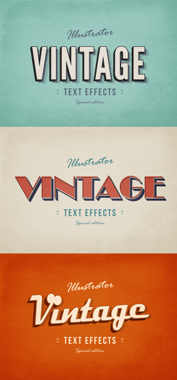 3-illustrator-vintage-text-effects
