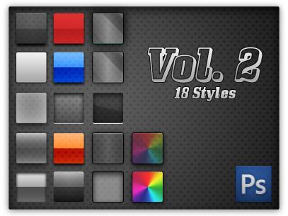 photoshop cs4 styles pack