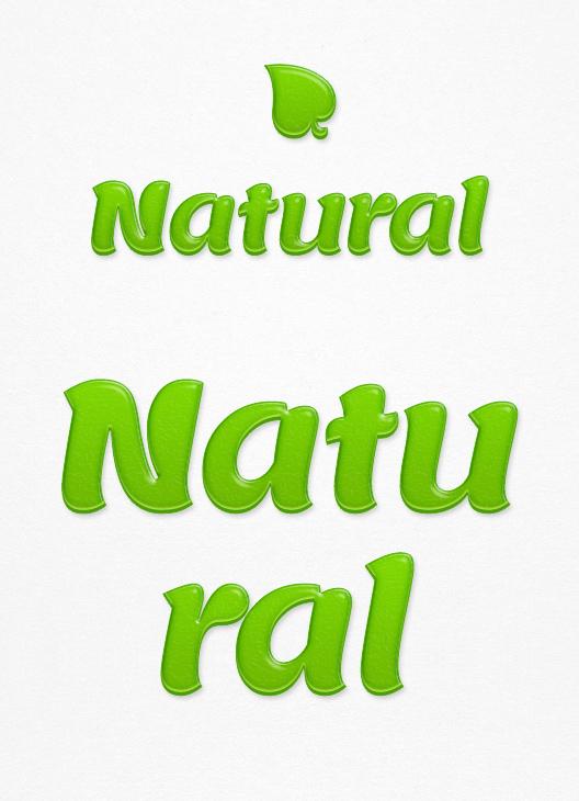 natural-text-effect