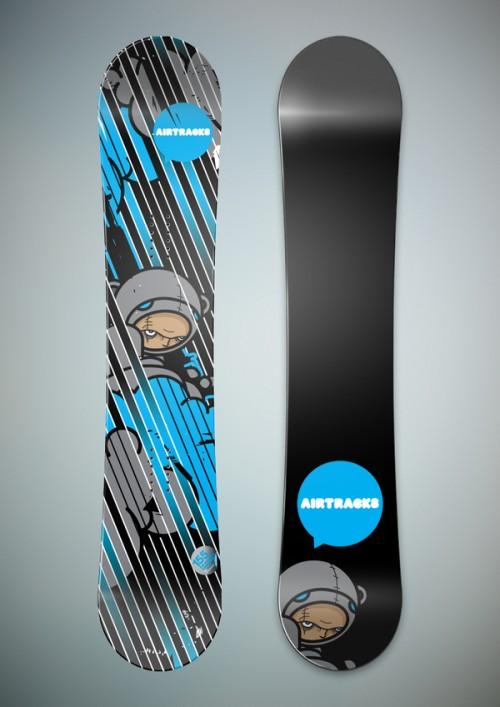 Snowboard Design by Petya Savova