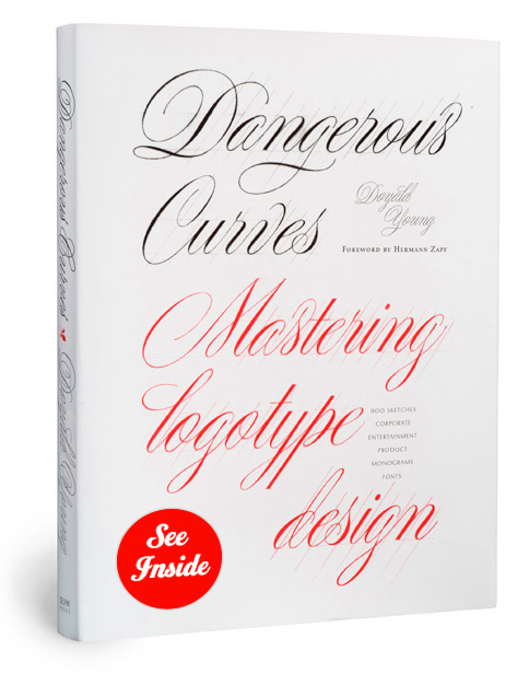 Dangerous Curves- Mastering Logotype Design by Doyald Young