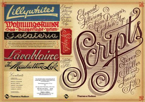 Scripts- Elegant Lettering from Design's Golden Age