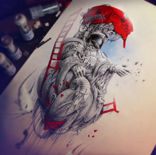 Sketchbook Art by Pez12