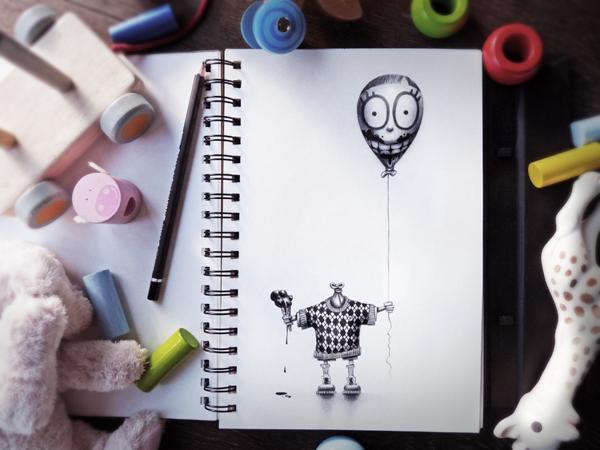 Sketchbook Art by Pez16