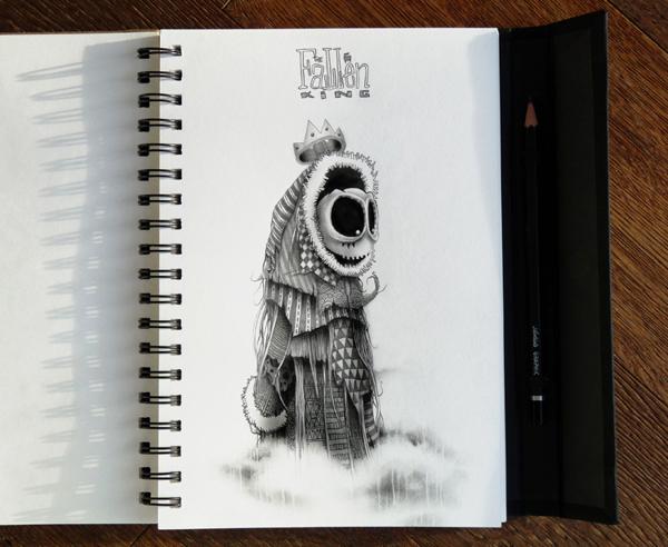 Sketchbook Art by Pez6