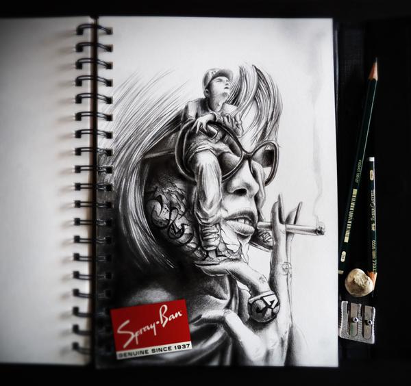 Sketchbook Art by Pez