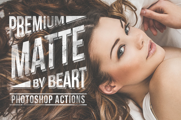 Matte Premium Photoshop Actions