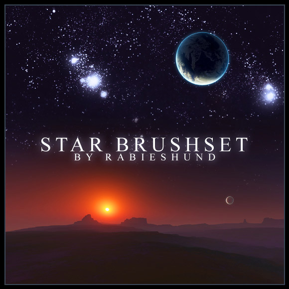 Rabies Star Brushset