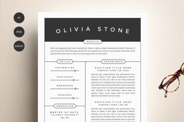 resume-template-4-pack-cv-template2