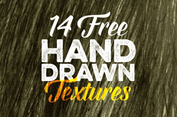 14 Free Hand Drawn Textures