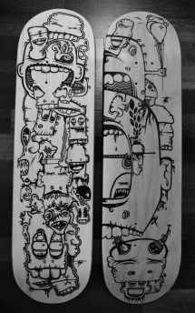 Creative Skateboard Deck Design Inspirationfeed