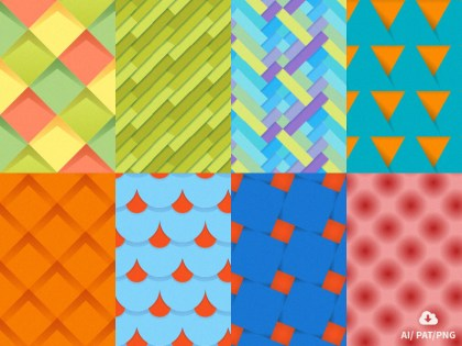 Material Design Tileable Patterns by Oxygenna