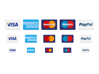 Payment Card Icons by Shaun Cronin