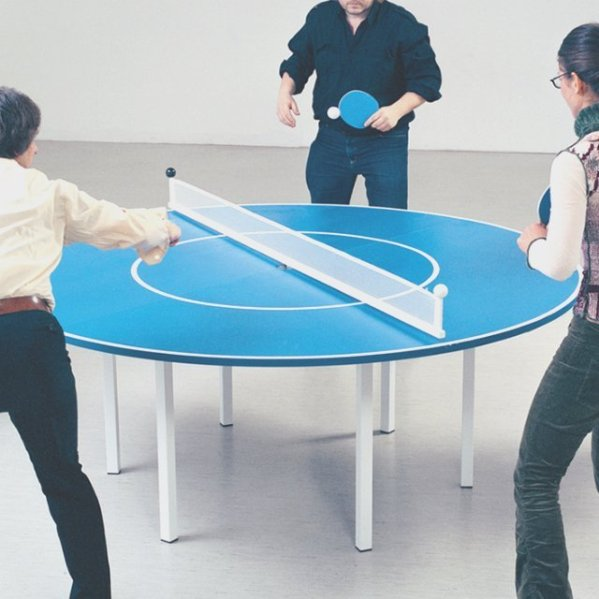 Ping Meets Pong Table