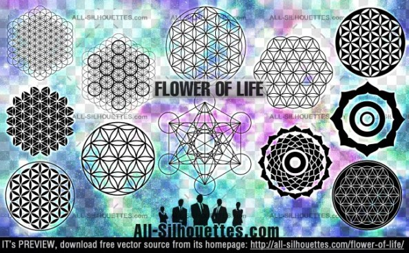 The Flower of Life Vectors