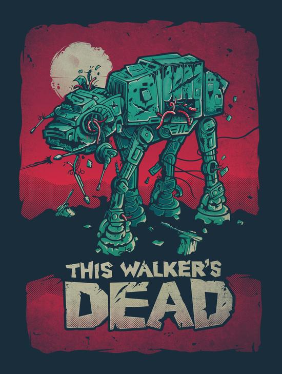 Walker's Dead by Victor Vercesi